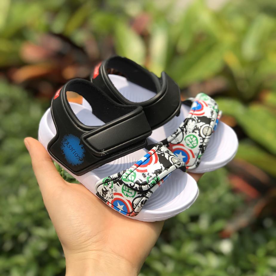 Dép Sandals A6 Siêu Nhân Cho Bé