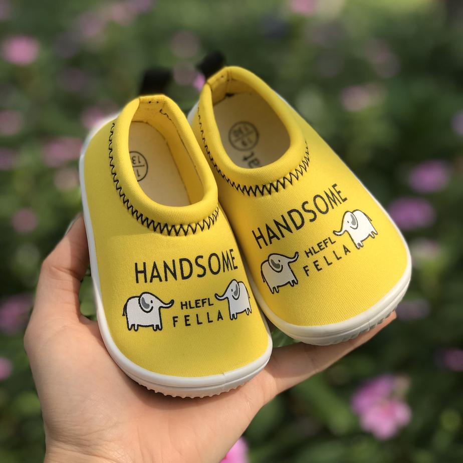 Giày Lười Vàng Voi Cho Bé