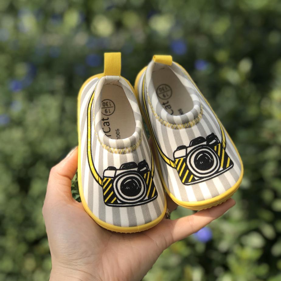 Giày Lười Máy Ảnh Cho Bé