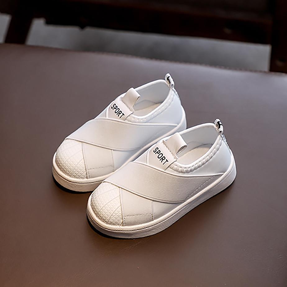 Giày Slipon C05 Trắng Cho Bé