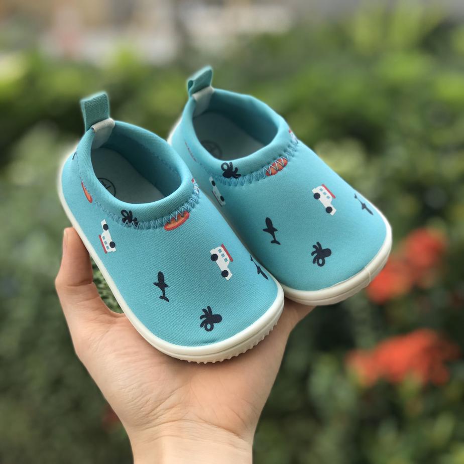 Giày Lười Xanh Oto Cho Bé