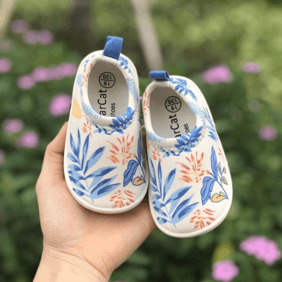Giày Lười Lá Cây Cho Bé
