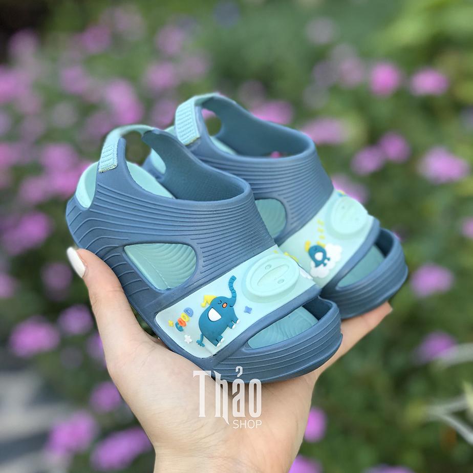 Dép Sandal 9013T Xanh Cho Bé