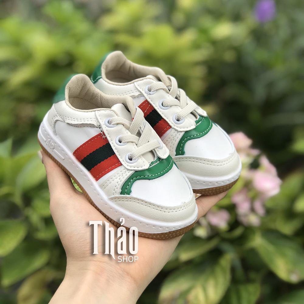 Giày Thể Thao V829 Trắng Cho Bé