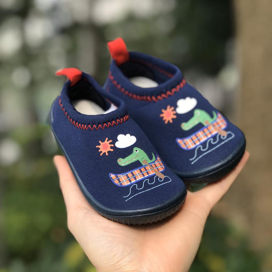 Giày Lười Cá Sấu Chèo Thuyền Cho Bé