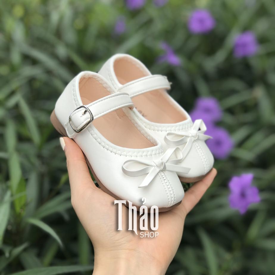 Giày nơ búp bê xinh xắn cho bé gái