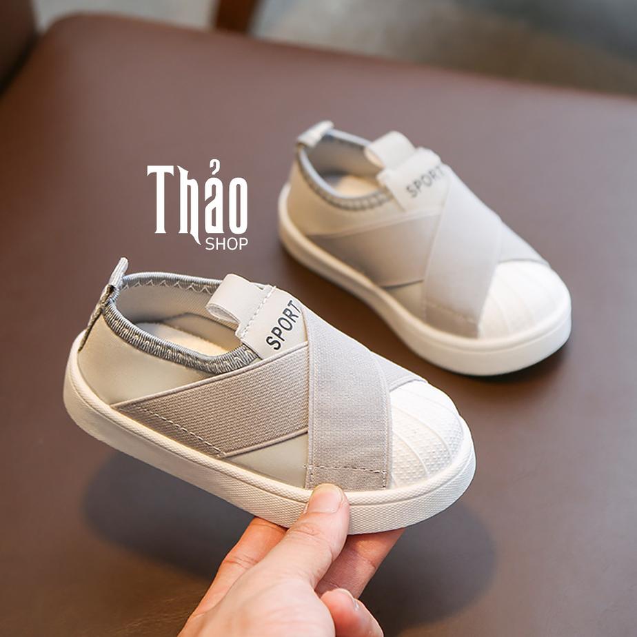 Giày lười sành điệu cho bé