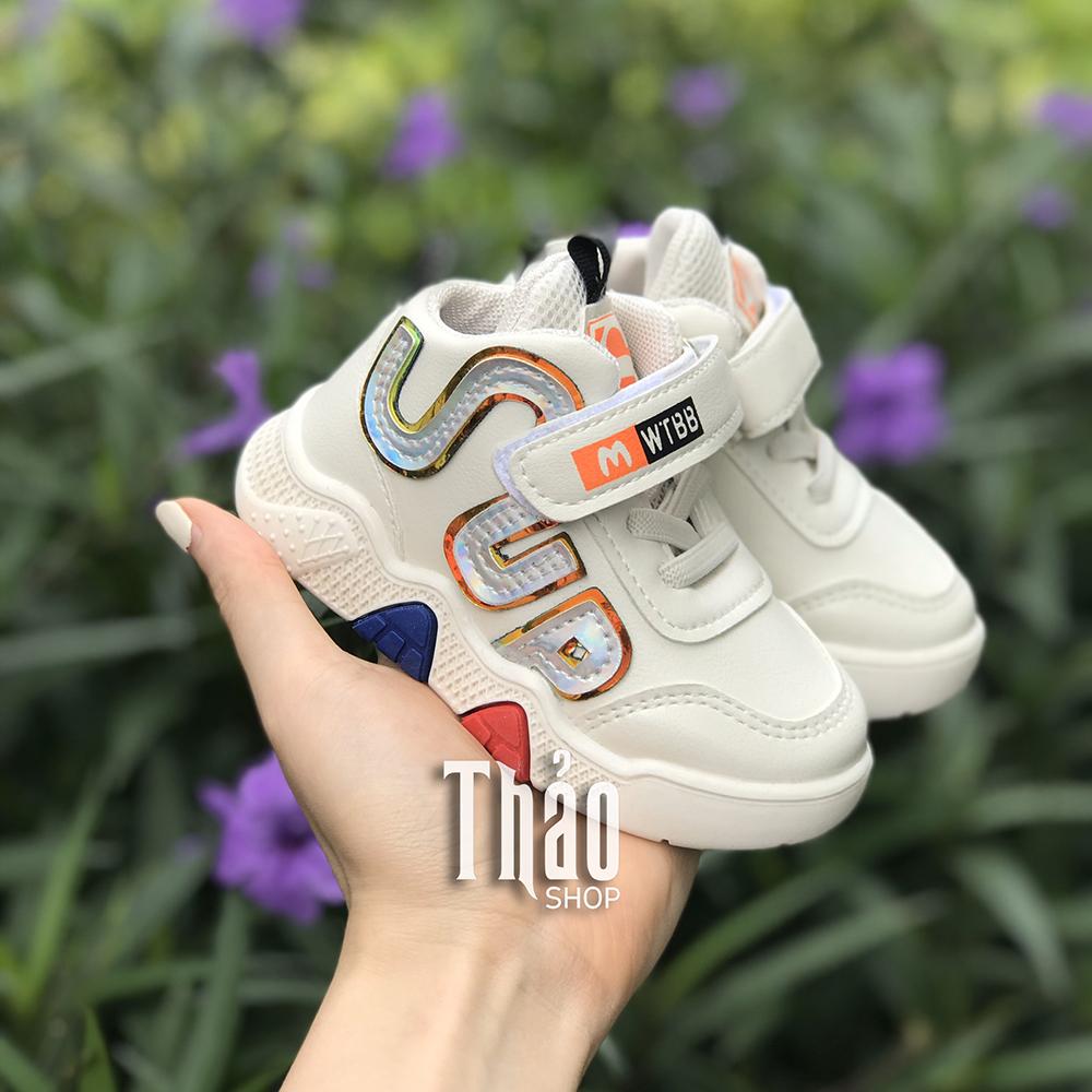 Giày Thể Thao 1909 Trắng Cho Bé