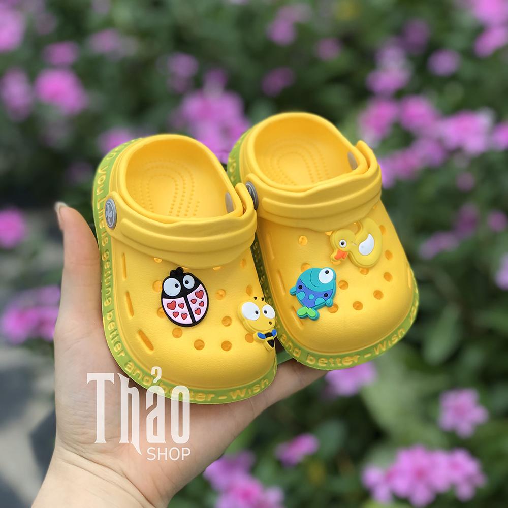 Dép Sandals 2038 Vàng Cho Bé