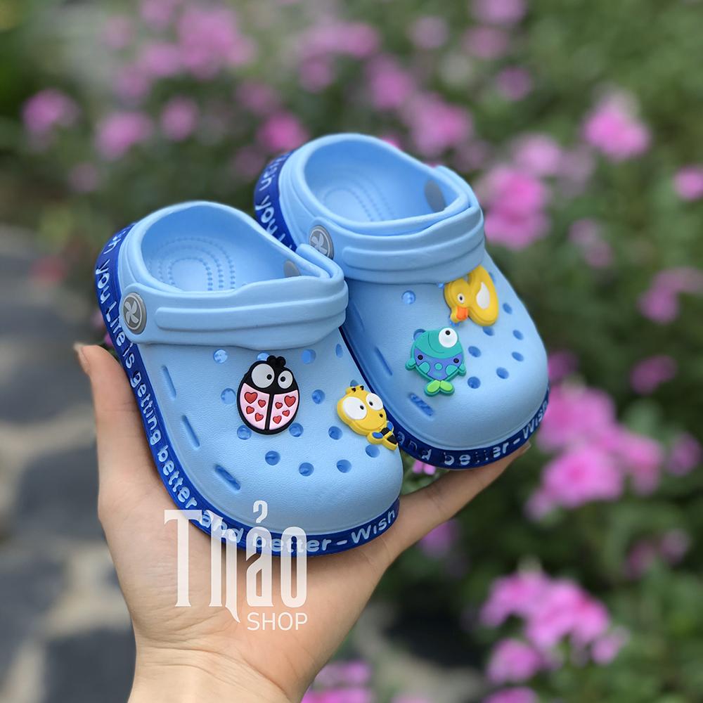 Dép Sandals 2038 Xanh Cho Bé