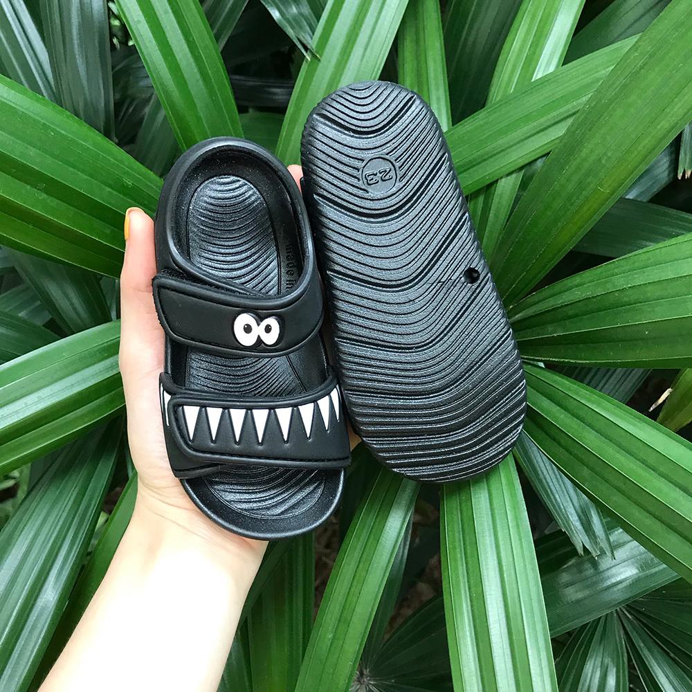Dép Sandals A7 Đen Cho Bé