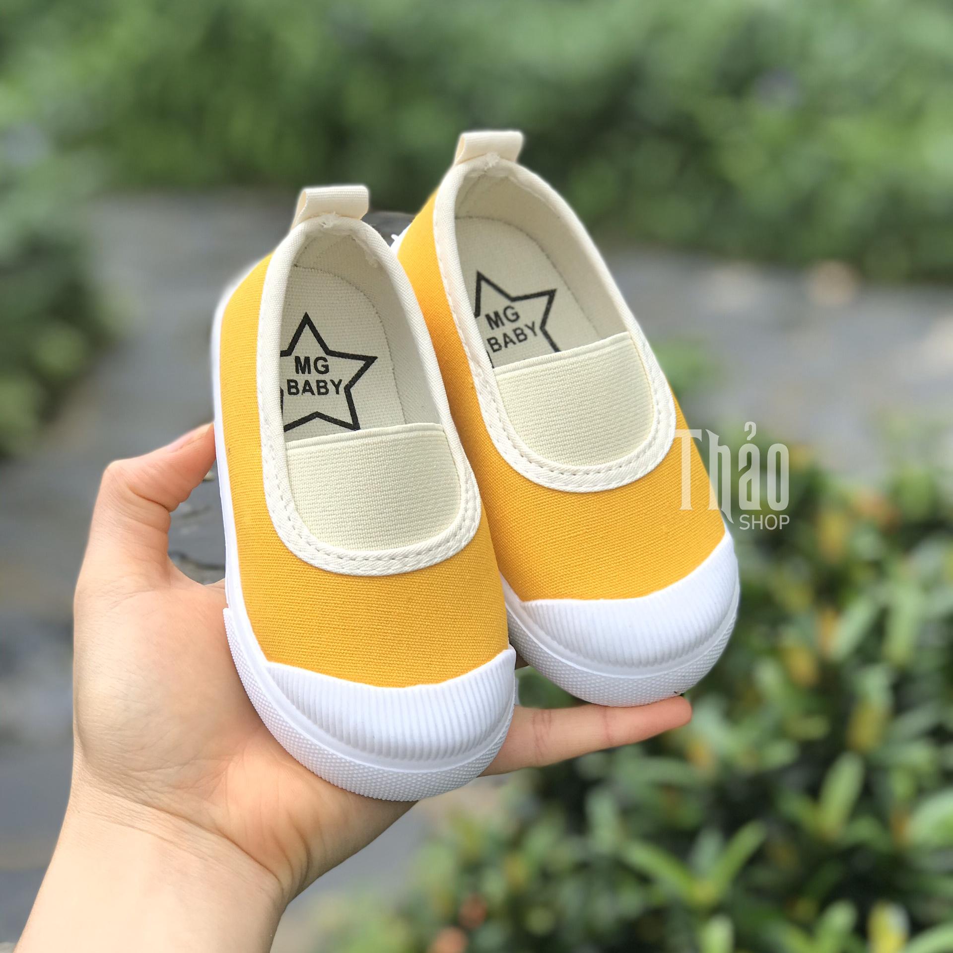Giày Slipon V138 Vàng Cho Bé