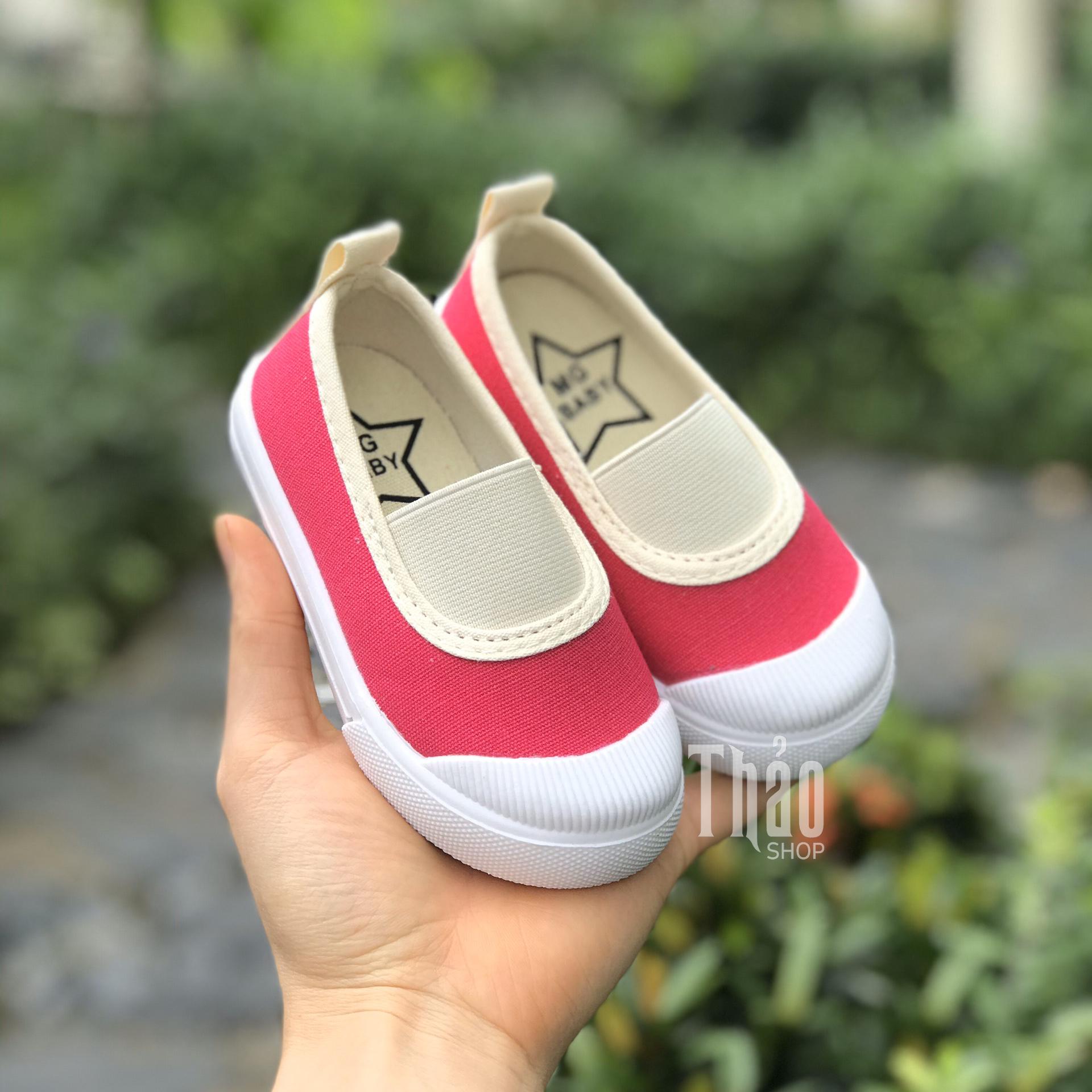Giày Slipon V138 Hồng Cho Bé