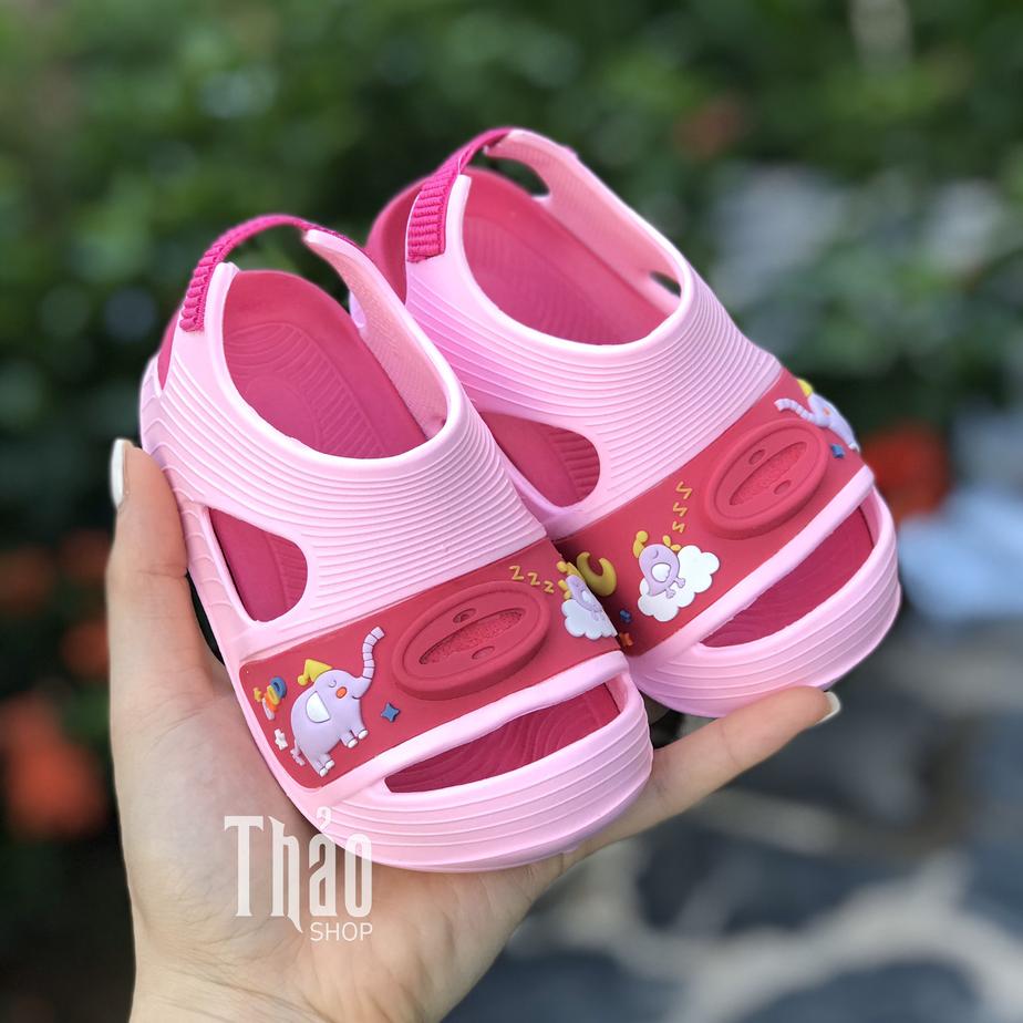 Sandal quai xốp cho bé gái