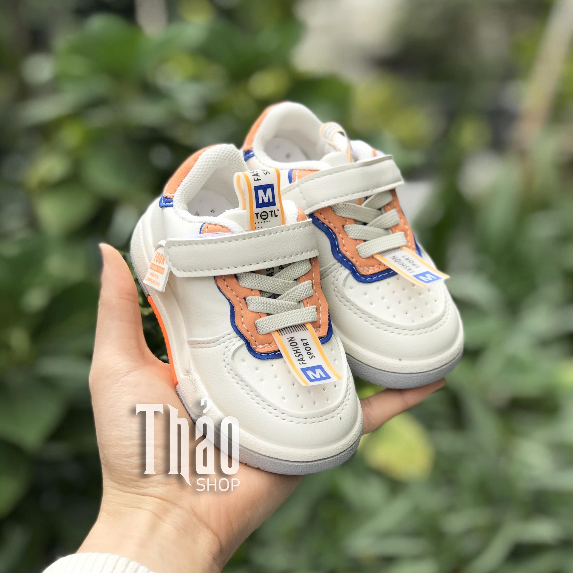Giày Thể Thao N-25 Cam Cho Trẻ Em