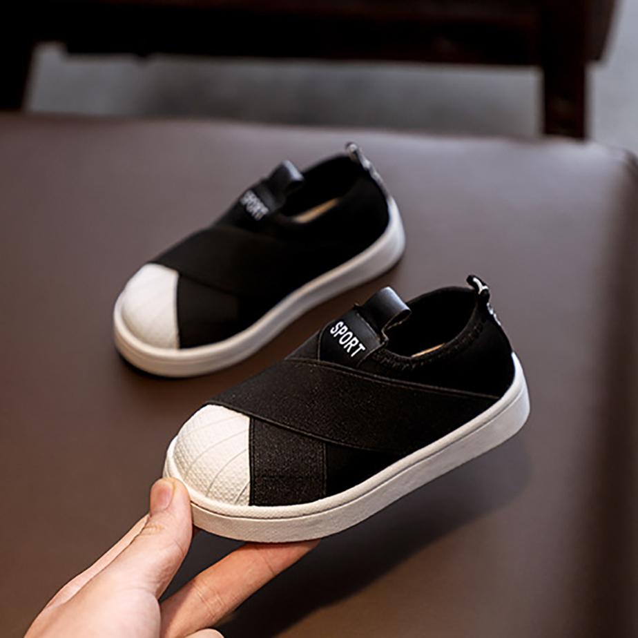 Giày lười thể thao tiện lợi cho bé